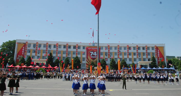 Празднование 74-летия Победы в ВОВ в Оше