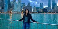 Кыргызстанка Астра Рахматилла кызы, живущая и работающая в США. Архивное фото