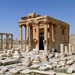 Сириянын Пальмира шаарындагы Баалшамин храмы. Уламыш боюнча аны Соломон падышанын убагында курушкан. Өз доорундагы эң бай шаар деп эсептелген.