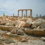 Талкаланган Баалшамин храмы. Пальмира шаары