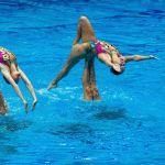 Спортсменки сборной России выступают на Кубке Европы по синхронному плаванию — 2019 в Санкт-Петербурге