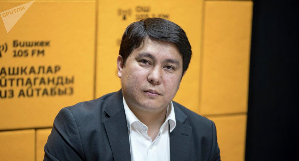 Специальный представитель правительства КР по делам в ЕАЭС Алмаз Сазбаков