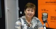 Бишкек шаарынын мэриясынын билим берүү башкармалыгынын башкы адиси Чинара Майтикова
