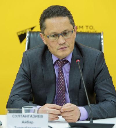 Исполнительный директор ассоциации Партнерская сеть Айбар Султангазиев. Архивное фото