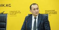 СПИД республикалык борборунун башчысынын орун басары Айбек Бекболотов. Архив