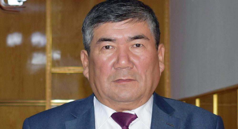 Аким Узгенского района Ошской области Бактыбек Алайчиев