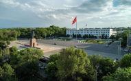 Вид на центральную площадь города Ош. Архивное фото