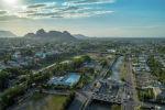 Вид города Ош с дрона. Архивное фото