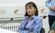 Директор муниципального предприятия Городские парки Калича Умуралиева. Архивное фото