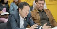Депутат Бишкекского городского кенеша, председатель постоянной комиссии БГК по социальным вопросам Рысбай Аматов. Архивное фото