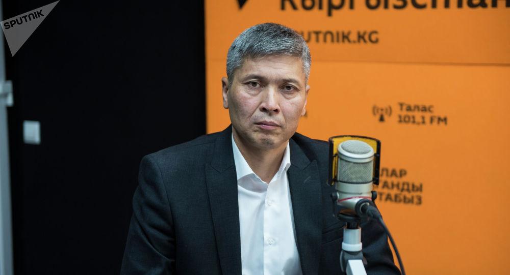 Бишкек мэриясынын муниципалдык унаа токтотуучу жайлар департаментинин директору Дамир Жумашев