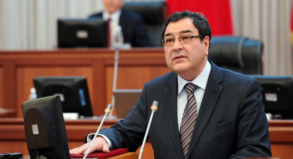 Мурдагы вице-премьер-министр Шамил Атаханов. Архив