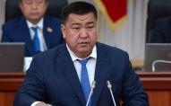 Экс-министр сельского хозяйства, пищевой промышленности и мелиорации КР Нурбек Мурашев. Архивное фото
