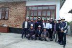 Выпускники окончившие школу двадцать лет назад построили дом для малоимущей семьи в селе Кара-Кулджа Ошской области