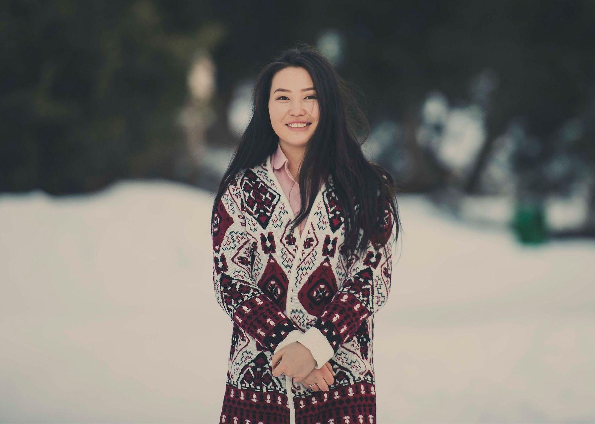 киргизка девушка на фото фото секса