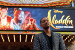 Актер Уилл Смит на премьере фильма Аладдин в театре El Capitan в Лос-Анджелесе, Калифорния, США, 21 мая 2019 года