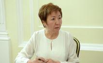 Председатель Верховного суда КР Гульбара Калиева. Архивное фото