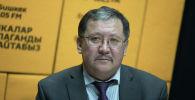 Өнөр жай, энергетика жана жер казынасын пайдалануу мамлекеттик комитетинин төрагасынын орун басары Карыбек Ибраев