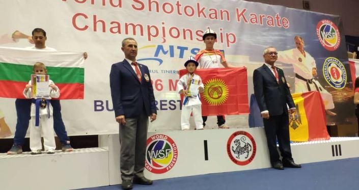 Кыргызстанские спортсмены завоевали 20 медалей на чемпионате мира по карате среди детей в Турции