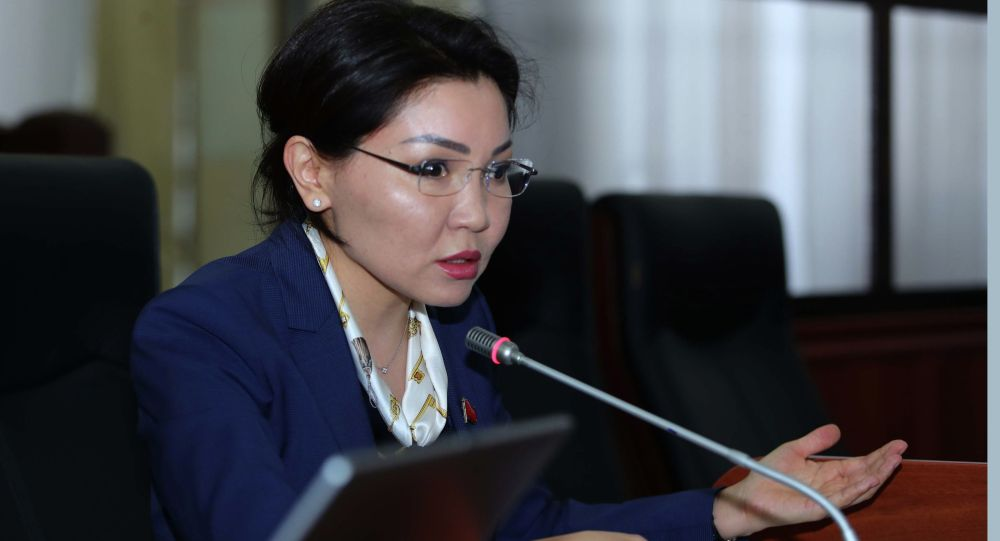 Депутат Жогорку Кенеша Эльвира Сурабалдиева. Архивное фото