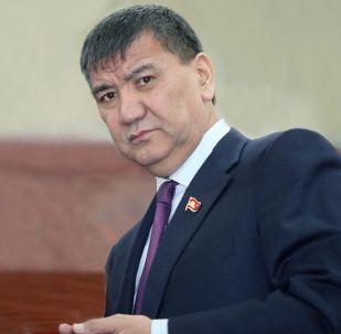 Депутат Жогорку Кенеша Искендер Матраимов. Архивное фото
