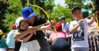 Празднование международного дня защиты детей в Бишкеке. Архивное фото