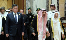 Рабочий визит президента КР Сооронбая Жээнбекова в Саудовскую Аравию. Архивное фото