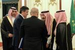 Президент КР Сооронбай Жээнбеков и король Саудовской Аравии Салман бин Абдельазиз Аль-Сауда. Архивное фото