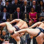 АКШнын президенти Дональд Трамп Японияга мамлекеттик сапары менен барды. Премьер-министр Синдзо Абэ менен жолугуп, сумо боюнча турнирге катышты