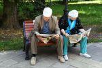 Пожилая пара. Архивное фото