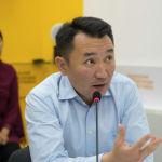 Генеральный директор телеканала НТС Миржан Балыбаев