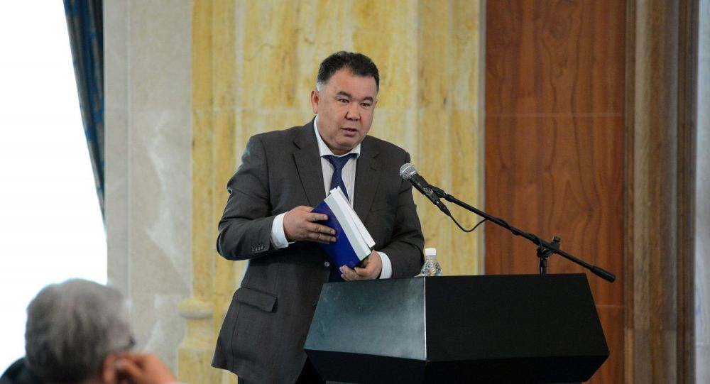 Экс-председатель Центризбиркома и бывший глава Чуйской области Туйгунаалы Абдраимов. Архивное фото