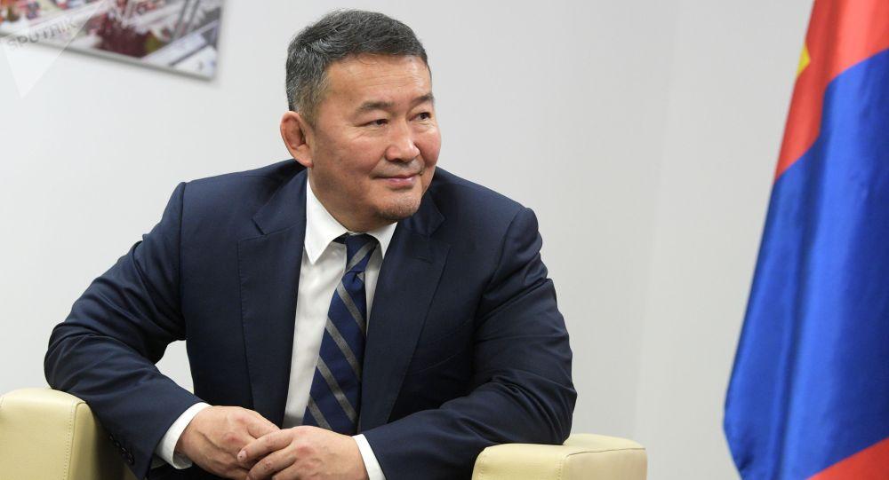 Монголиянын президенти Халтмаагийн Баттулганын архивдик сүрөтү