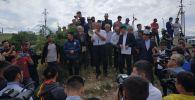 Жители села Орока Сокулукского района помирились