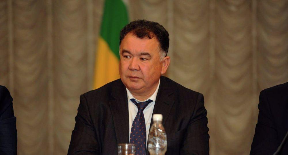 Бывший полномочный представитель правительства в Чуйской области Туйгунаалы Абдраимов. Архив