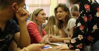 Кыргызстанцы приняли участие в форуме Молодежь против экстремизма: Бишкек — Астана — Уфа, который проходил в Башкортостане (Россия)