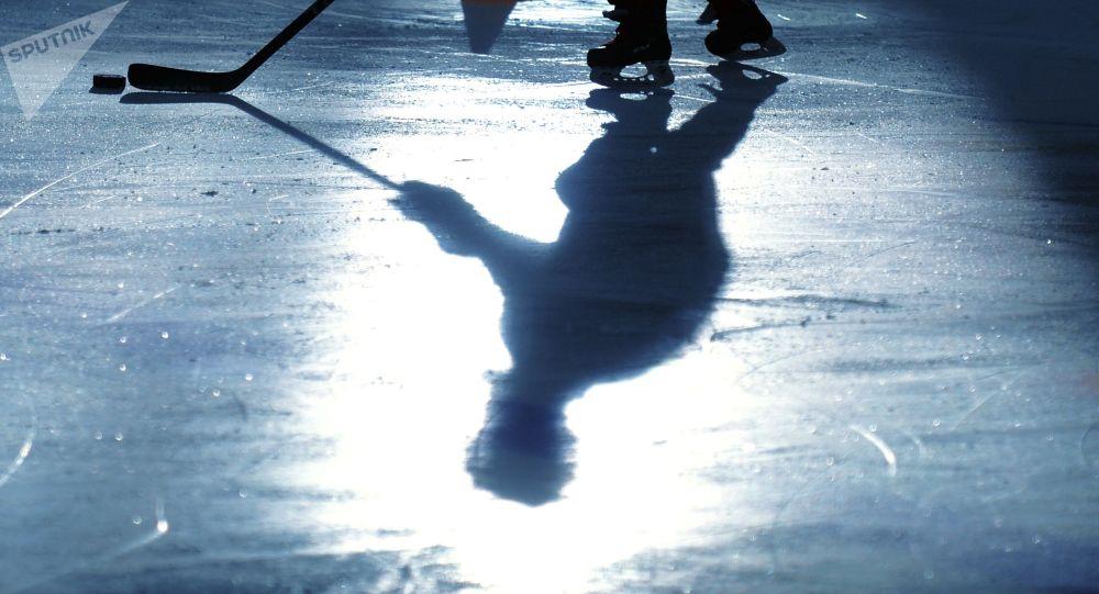 Хоккеист. Архивное фото