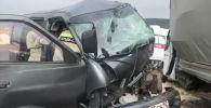 В результате случившегося пострадали три человека. Кыргызстанец находился в автомобиле ГАЗель.