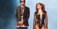 Самый богатый рэпер Jay Z и певица Бейонсе. Архивное фото