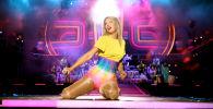 Певица Тейлор Свифт во время выступления на 2019 iHeartRadio Wango Tango