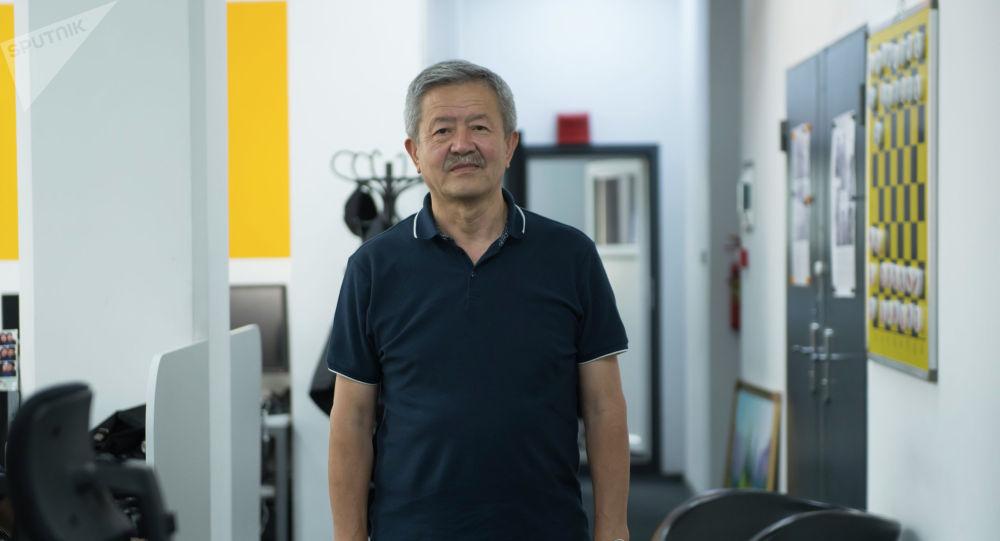 Экс-Заместитель министра здравоохранения КР Касымбек Мамбетов. Архивное фото