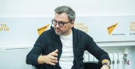 Россиялык белгилүү теле алып баруучу Вадим Такменев. Архивдик сүрөт