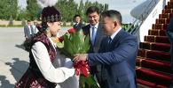 Монголиянын президенти Халтмаагийн Баттулга бүгүн, 12-июнда, расмий сапары менен Кыргызстанга келди