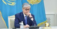 Казакстындын президенти Касым-Жомарт Токаев. Архив