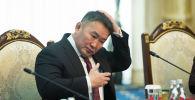 Монголия президенти Халтмаагийн Баттулга. Архивдик сүрөт