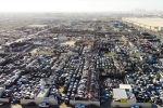 Кладбище дорогих автомобилей на огромном полигоне в Объединенных Арабских Эмиратах сняли на видео.