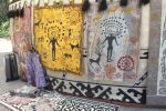 Выставка войлочных изделий на государственной резиденции Ала-Арча