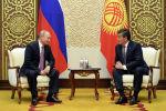 Президент Сооронбай Жээнбеков Россия өлкө башчысы Владимир Путин. Архивдик сүрөт