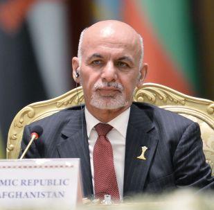 Президент Афганистана Мохаммад Ашраф Гани. Архивное фото