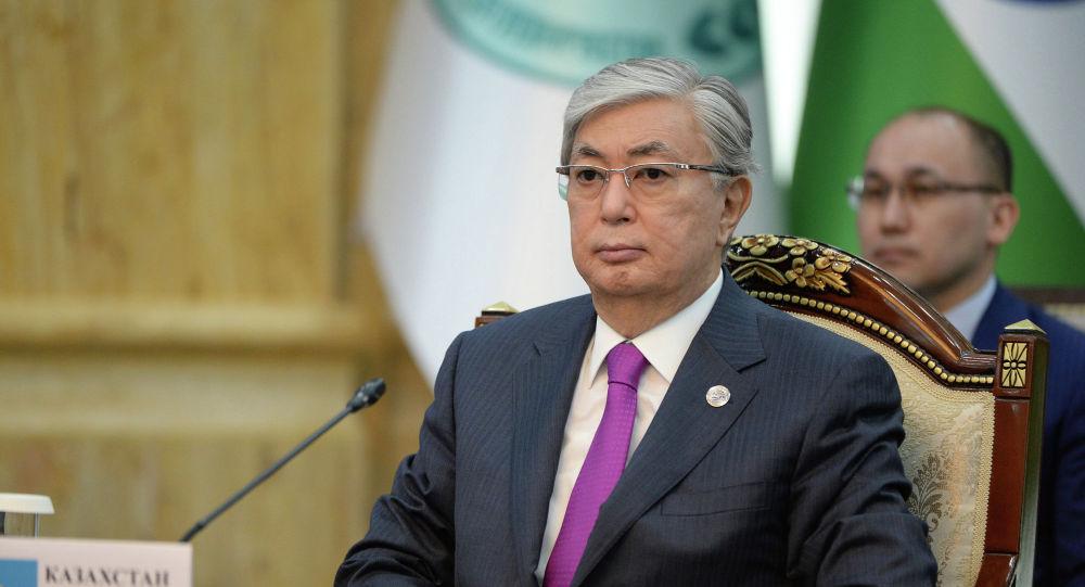 Казакстан президенти Касым-Жомарт Токаев. Архивдик сүрөт
